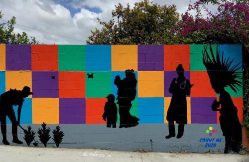 Cypress lot Mural